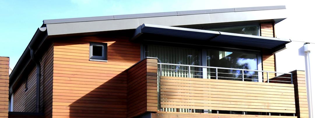 Bevorzugt Eine Holzfassade zum Verlieben | Mobile Projekt Promotion NC36