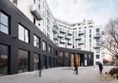 Anlage Wohnungen Althan Park - Wohnen im Stadtgarten 1090 Wien