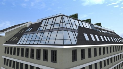 Wohnen Wohnungen Erstbezug DG-Wohnungen Nähe Mariahilfer Straße 1070 Wien