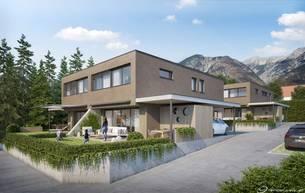 Wohnen Wohnungen Projekt Sophie - 4 Exklusive Doppelhaushälften in Bestlage von Mils 6068 Mils